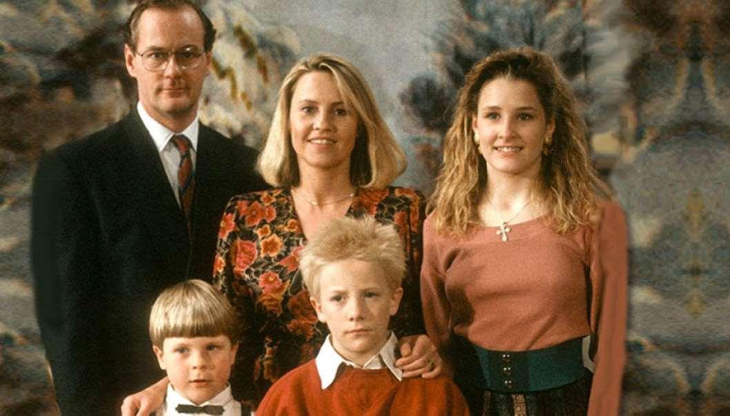 Sune med familj på julafton