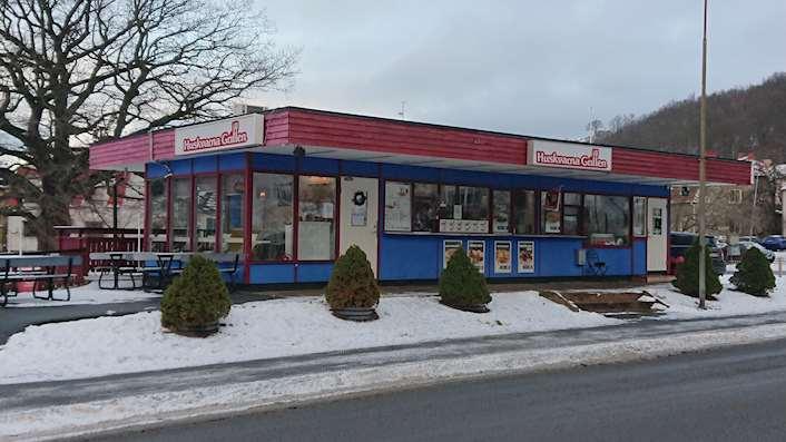 Kiosk vid Mjölkafållan